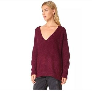 Free People Sweaters Lofty V Neck Sweater S Poshmark